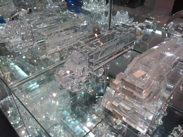 Corporate art glass awards