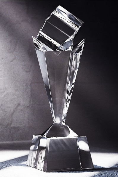 Majestic Crystal Statuette