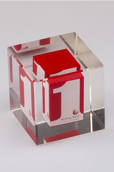 Acrylic Embedment Cube