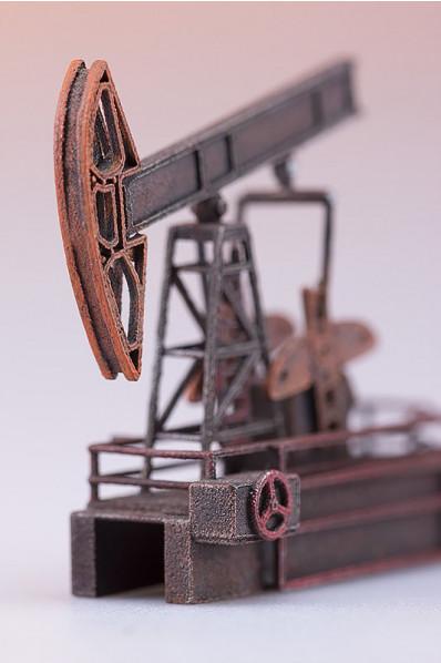 Oil rig Miniature 3D Print