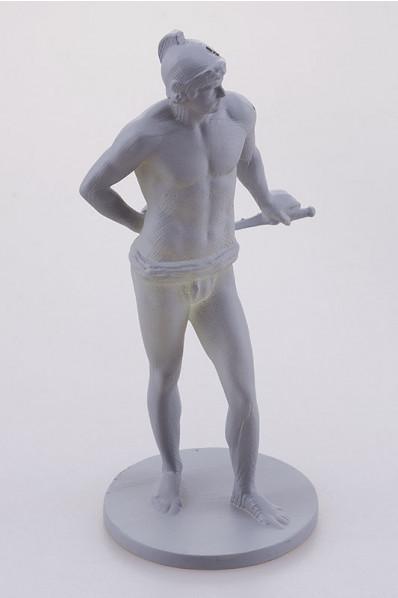 Miniature 3D Printed Greek Statuette
