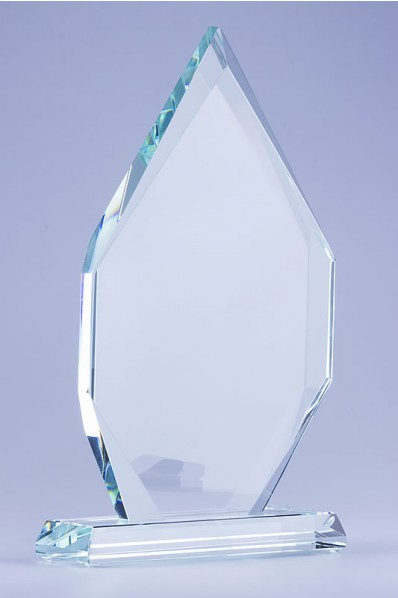 The Plaque Glass Statuette