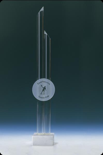 Glass Spire Trophy