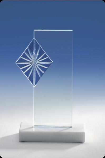 Ornamental Glass Plaque