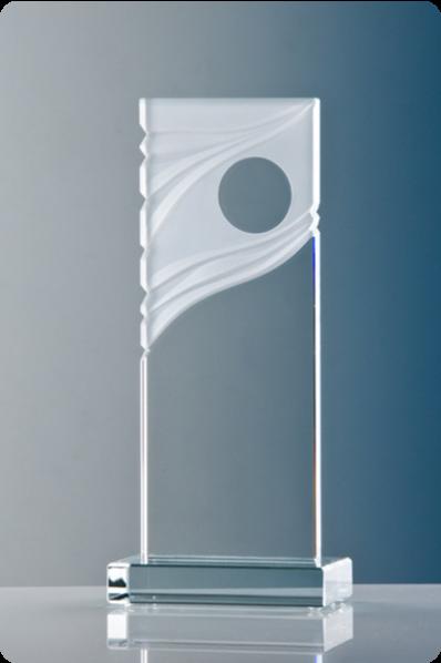 Ornamental Glass Plaque 2