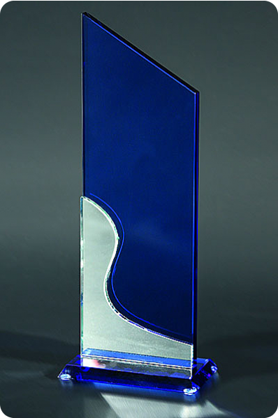 Two Piece Plaque Blue