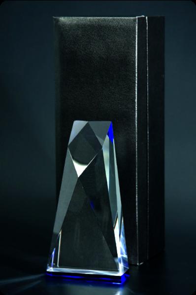 Trapezoid Cube Statuette