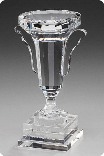 The Grand Glass Cup Trophy
