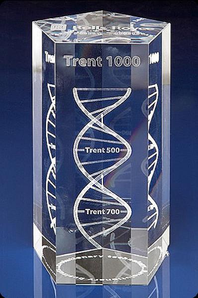 The Prism Crystal Block Trophy