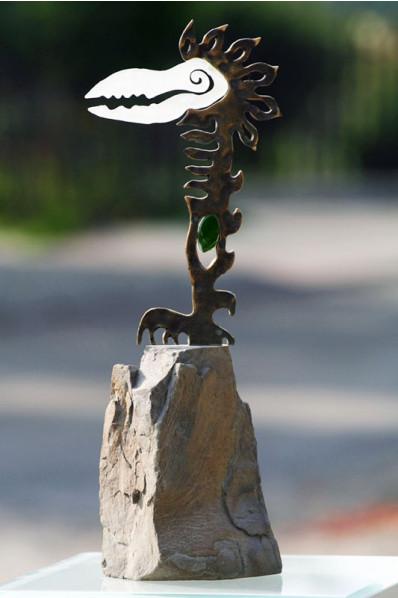 Predatory Bird Statuette
