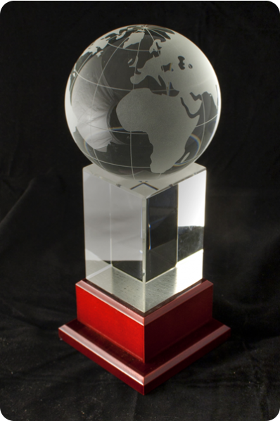 Globe on the Block Trophy