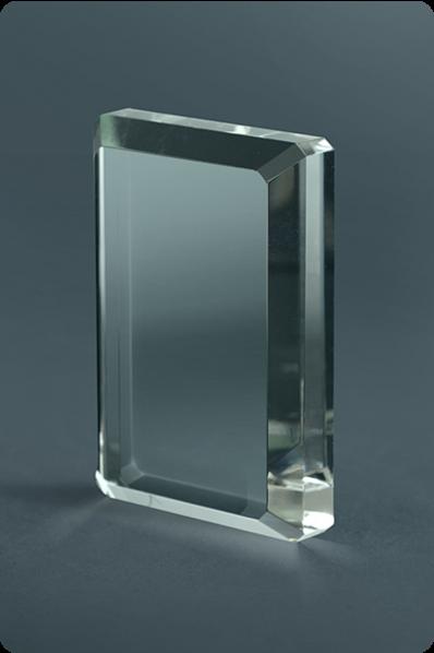 Irregular Crystal Plaque