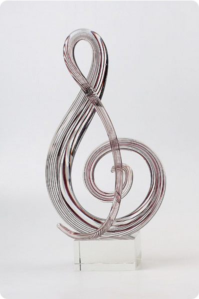 Glass Clef Key Award