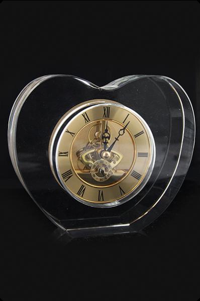 Glass Mechanical Clock