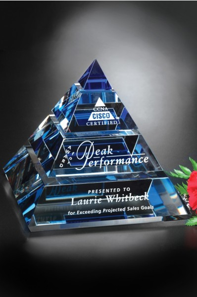 Crystal cone award