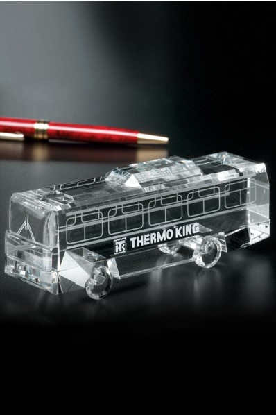 Glass bus