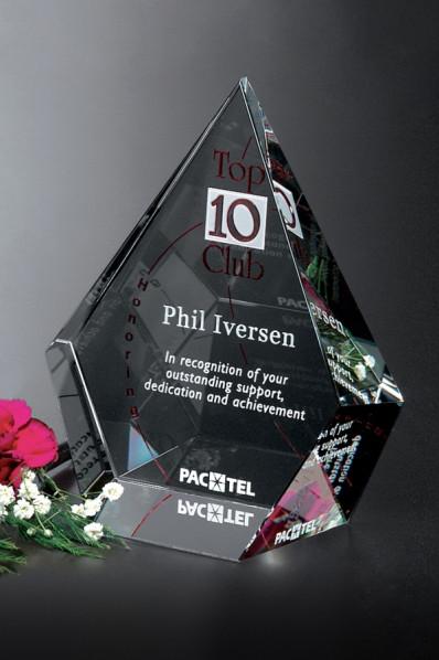 Crystal award - Arrowhead