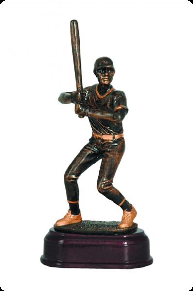 Baseball Pitcher Statuette
