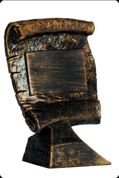 Medieval Scroll Resin Award