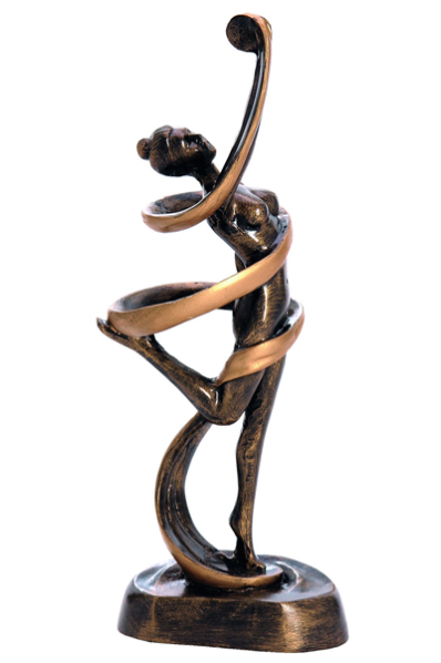 Woman with a Ribbon Trophy