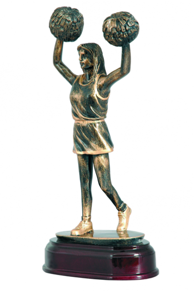 Cheerleader Statuette