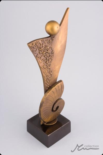 Seashell Human Statuette