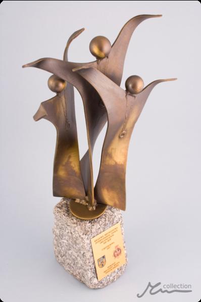 Dance Group Statuette