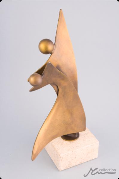 Dancing Duo Statuette