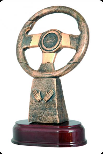 Steering wheel on a base