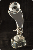 Soccer Ball Award Plaque